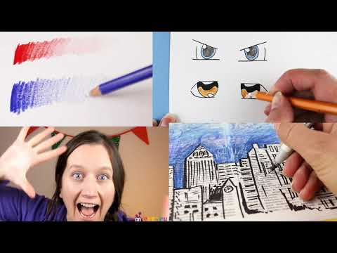 Online art classes for kids and adult beginners
