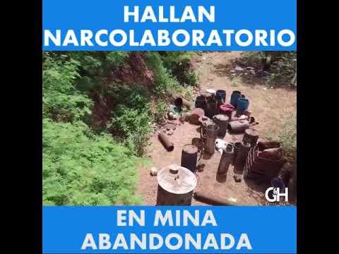 Hallan narcolaboratorio en mina abandonada en Sonora