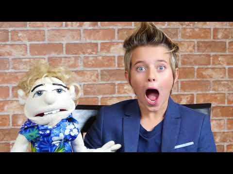Gavin Magnus goes head to head with his own puppet! | FanlalaTV