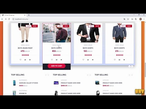 PHP & MYSQL - Online Shopping System Source Code Download Free