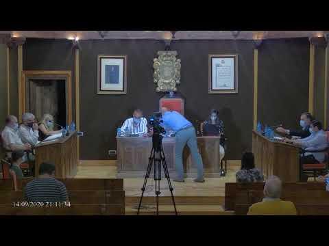Directo: Pleno de El Burgo de Osma (14-9-2020)