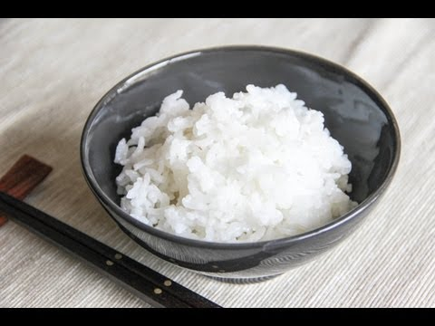 Steamed Rice Recipe – Japanese Cooking 101