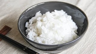 Steamed Rice Recipe - Japanese Cooking 101
