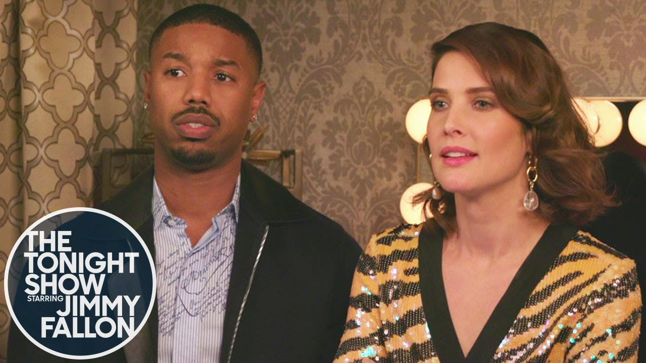Michael B. Jordan and Cobie Smulders Text Thanos thumbnail