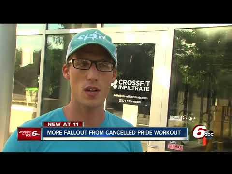Indy CrossFit gym closes amid backlash over canceled pride-themed workout