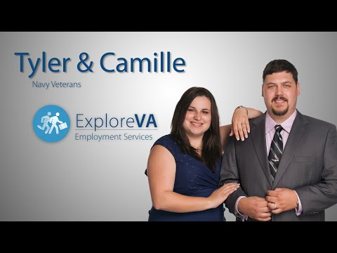 Tyler and Camille used VA employment benefits to start a new phase of their life in California.
