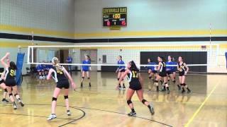 8th Grade Volleyball v Centerville 081914