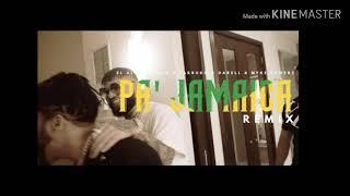 El Alfa Ft. Farruko, Darell, Myke towers, Big O - Pa Jamaica Remix (Official Audio)