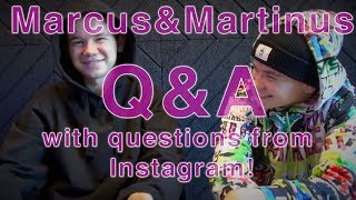Marcus&Martinus – Q&A With Questions From Instagram!