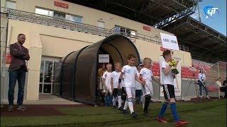 На стадионе «Электрон» стартовал мини-чемпионат мира по футболу среди воспитанников школьных дневных лагерей