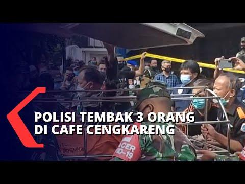 3 Orang Tewas Ditembak Polisi di Cafe Cengkareng