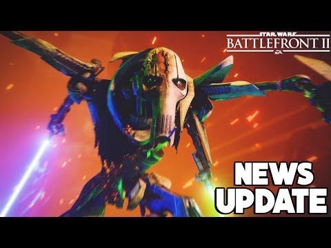 NEWS UPDATE: HUGE Enforcer NERF, No Droideka Buff + Grievous Changes! Star Wars Battlefront 2