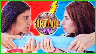Survivor Slime Challenge Slime Yarışması Eğlenceli Çocuk Videosu Dila Kent