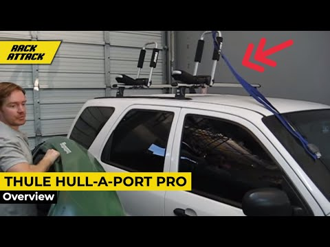 Thule Hull-a-Port Pro Demonstrated By Rack Outfitters