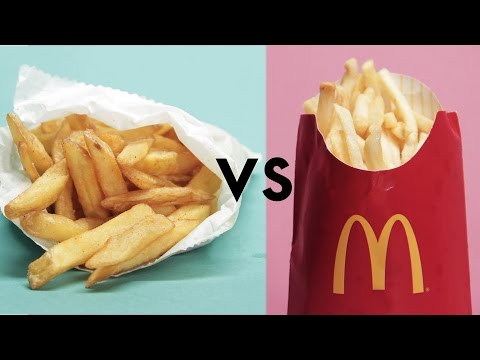 Video McDonald's Vs. 'Healthy' Restaurants