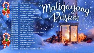 Paskong Pinoy - Best Tagalog Christmas Songs 2018 Playlist - Top Traditional Christmas Songs Ever
