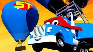 Videa o náklaďácích pro děti Horkovzdušný balón