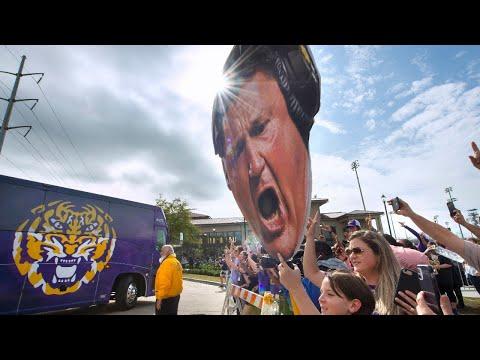 LSU football national championship parade