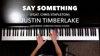 Justin Timberlake   Say Something Ft. Chris Stapleton (HQ Piano Cover)
