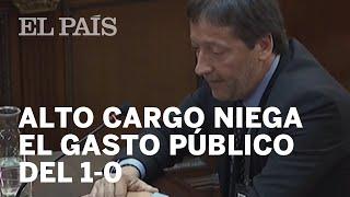 JUICIO PROCÉS | Un Alto Cargo De La Generalitat Niega El Gasto Público Del 1-O