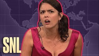 Weekend Update Rewind: Girl You Wish You Hadn't Started a Conversation With (2 of 2)