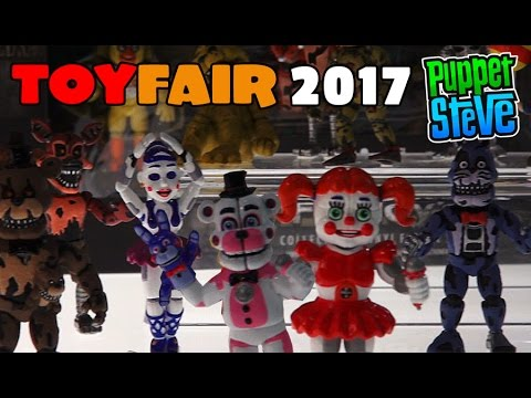 Five Nights at Freddy's Fnaf Funko Collectable Vinyl Set 3 Toyfair 2017 Sister location, nightmare