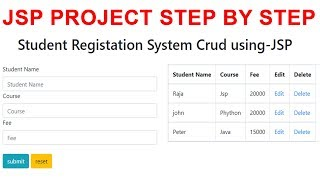 JSP Project Step by Step