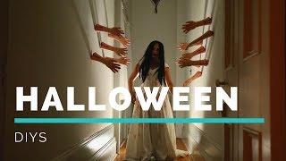 DIY HAUNTED HALLOWEEN DECOR | Creepy Collab With The DOMESTIC GEEK!!!