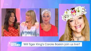 Loose Women (UK) about Carole Baskin and Dancing with the Stars Premier