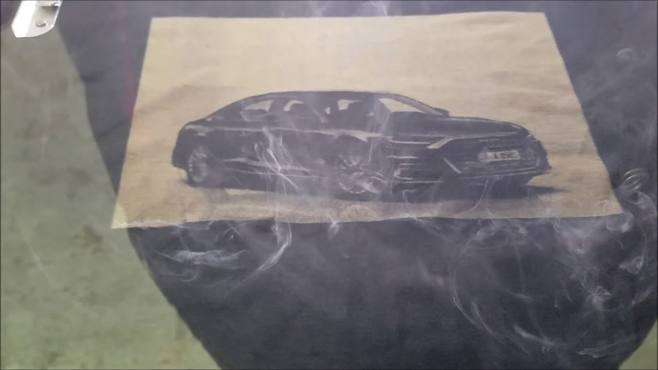 Z Galva Etching Car