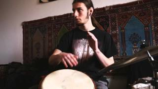Vincent Morris - Inspirational session ( with Tabla, Sax , Djembe and Guitar )