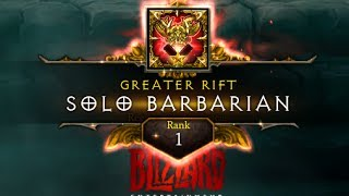 Rank 1 Barb Season 10 Hardcore NA GR 95