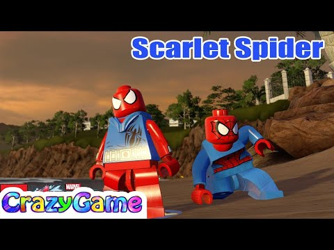 LEGO Scarlet Spider-Man - #LEGO MARVEL's Avengers Free Roam (видео)