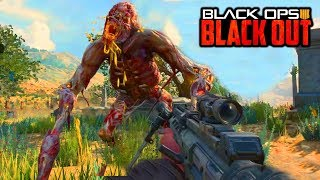 """BLACK OPS 4 ZOMBIES """"BOSS FIGHT"""" EASTER EGG IN BLACKOUT! (Call of Duty Black Ops 4 Zombies)"""