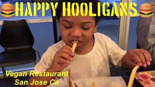What I Ate At The Happy Hooligans In San Jose California Vegan Resturant