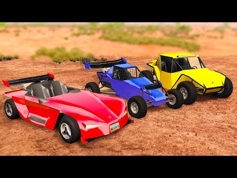 3 CRAZY NEW OFF-ROAD BEASTS! - BeamNG Drive RG Xtreme Car Pack Mod
