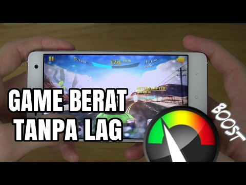 Video Cara bermain game berat tanpa lag di Android 100% Work !!!