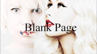 Christina Aguilera Ft. Sia - Blank Page