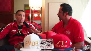 Marcos Hernandez talks about his Mayweather vs McGregor undercard fight.