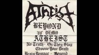 ATHEIST (USA/FL)-  Beyond Demo 1988 [FULL DEMO]