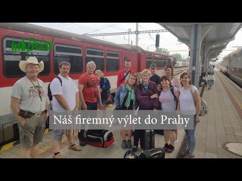 Výlet do Prahy vlakom
