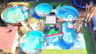Backyard Full Of Pools | Sam & Nia