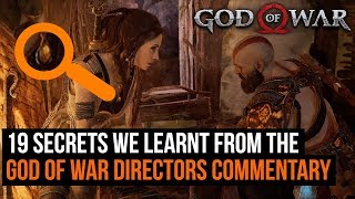 19 secrets we learnt from the God of War directors commentary