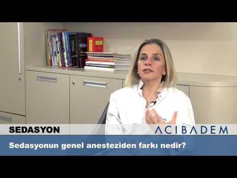 Sedasyonun genel anesteziden farkı nedir?