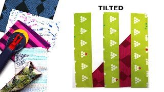 Sew Modern Quilts: Tilted For The Modern Quilt Block Series