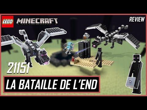 Vidéo LEGO Minecraft 21131 : Les pics de glace