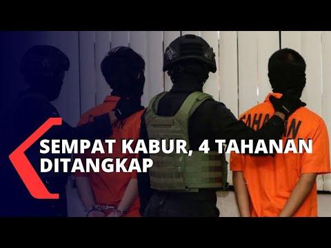 sempat kabur sepekan tahanan telah ditangkap