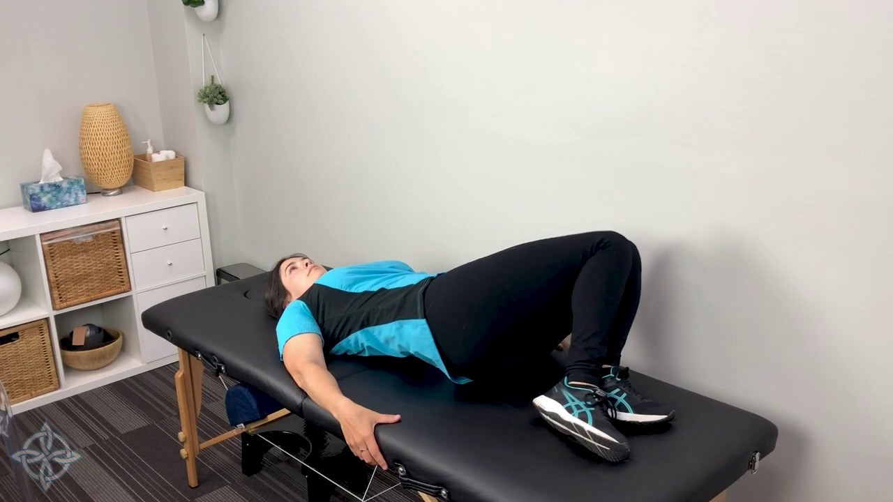 Photo of Supine Lower Trunk Twist