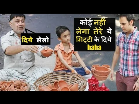 Father And Son Were Selling Diyas On Diwali 😢