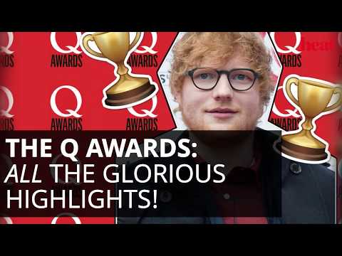 Q Awards 2017: Ed Sheeran, Maisie Williams And Wiley On The Red Carpet!